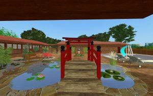 Japanese Bridge & Koi Pond