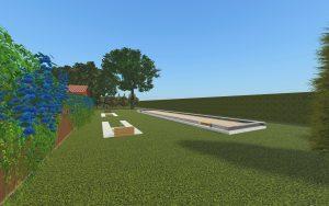 Horseshoe Pit & Bocce Ball